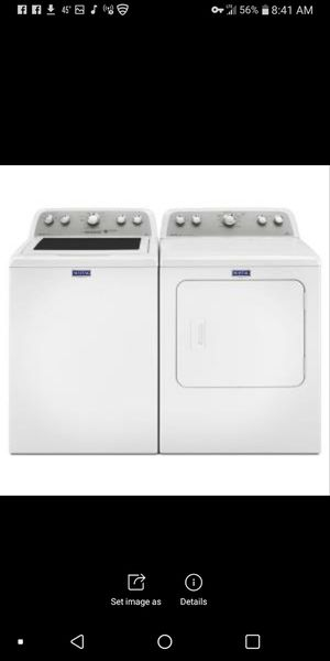 Maytag bravo washer and dryer for Sale in Richland, MO