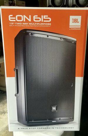 Jbl eon 615 speaker 🔈profesional for Sale in Hialeah, FL