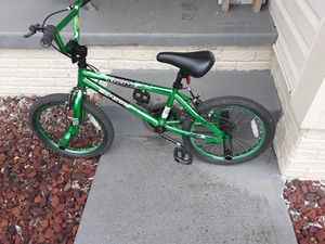 "18"" boys bmx style bike with pegs for Sale in Reynoldsburg, OH"