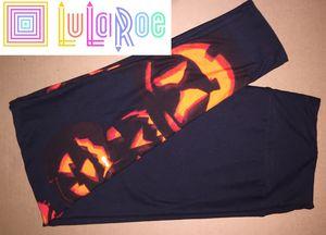 LuLaRoe TC Leggings Halloween Pumpkins for Sale in East Peoria, IL
