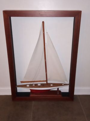 "Shadow Box Starwood BOAT - Wall Art Home Decor 33"" x 24"" for Sale in Orange Park, FL"