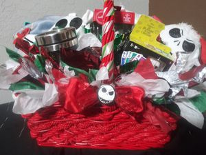 nightmare before Xmas holiday gift basket for Sale in Phoenix, AZ