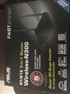 WiFi router ASUS fast N300 for Sale in Highland Hills, OH