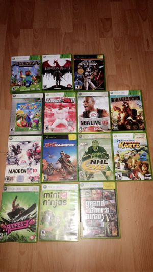 Xbox 360 Games for Sale in La Habra Heights, CA
