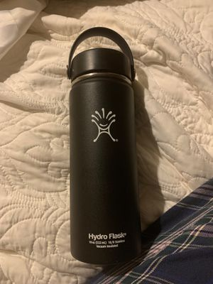 Hydro Flask 18oz black wide mouth for Sale in Los Angeles, CA