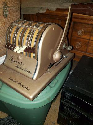 Vintage Paymaster Ribbon Writer for Sale in Kilgore, TX