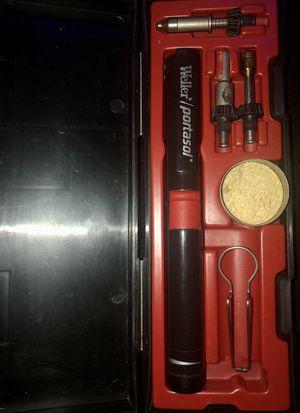 Weller Portasol P-1K Cordless Butane Gas Powered Soldering Tool Kit for Sale in Taylors, SC