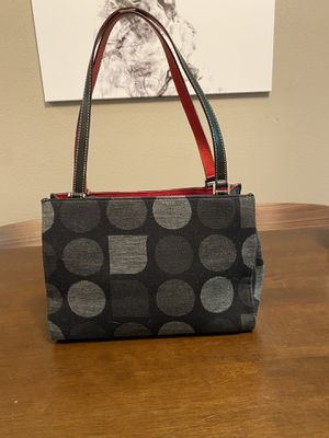 Kate Spade used black & gray handbag for Sale in Tumwater, WA
