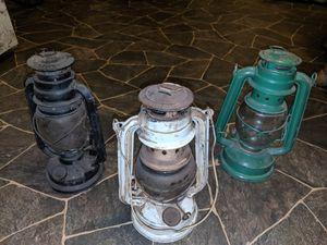 3 Antique lanterns for Sale in Evansville, IN