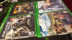 Xbox One Game Lot Shipping Only for Sale in North Miami Beach, FL