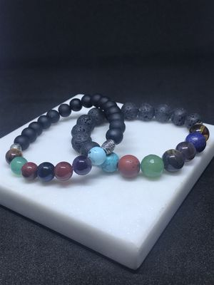Set of two chakra Bracelets for Sale in Los Angeles, CA