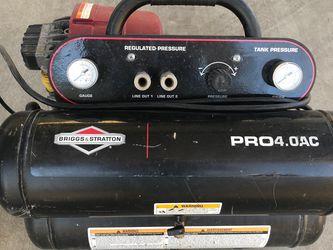 Briggs & Stratton PRO Dual Tank Compressor for Sale in Pico Rivera,  CA