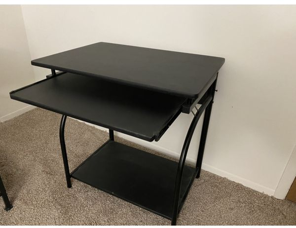 Computer Desk with Pullout Keyboard Tray For Sale