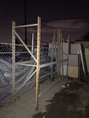 3 sections of pallet racking $350 for Sale in Downey, CA