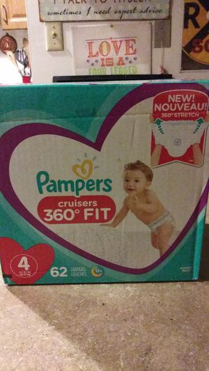 Pampers 360 cruisers Diapers for Sale in Everett, WA