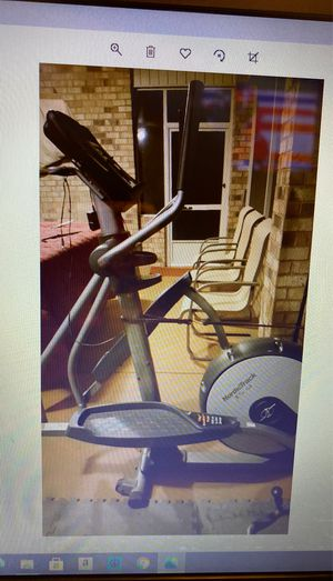NordicTrack Spacesaver SE Elliptical Trainers for Sale in Willow Spring, NC
