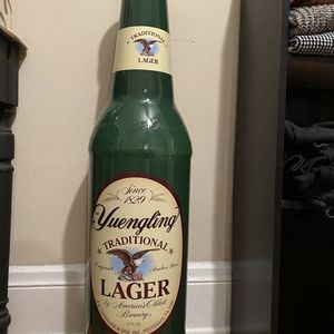 Vintage Large Yuengling Plastic Beer Bottle Coin Bank for Sale in Lakewood, OH