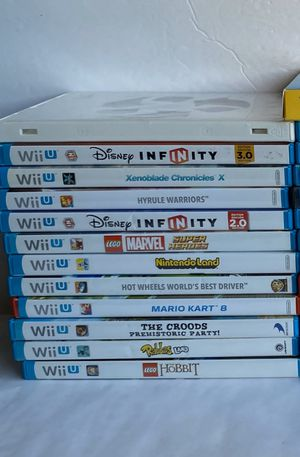 NINTENDO Wii U GAMES for Sale in Apache Junction, AZ