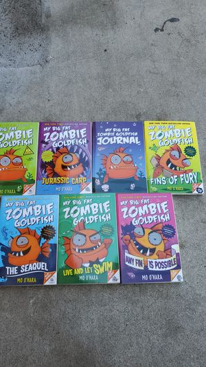 My big fat zombie goldfish book collection for Sale in Buena Park, CA