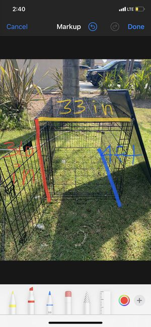Large dog crate for Sale in Torrance, CA