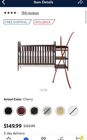 New inbox dream on me 3in1 crib for Sale in Las Vegas, NV
