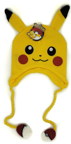 """Brand NEW! POKEMON """"Pikachu"""" Beanie, One Size Fits ALL For Everyday Use/Parties/Outdoors/Parties/Gifts for Sale in Carson, CA"""