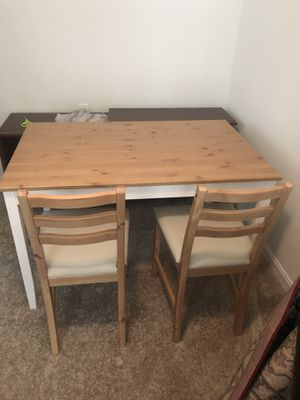 IKEA kitchen table + chairs for Sale in Arlington, VA