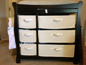 Changing table with lots of storage for Sale in Tacoma, WA