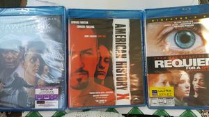 Blu-rays. Unopened. Would make great stocking stuffers! for Sale in Yorba Linda, CA