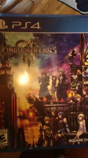 Kingdom hearts 3 for Sale in Freetown, MA