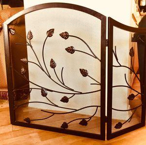 Decorative metal art fireplace-screen for Sale in Chandler, AZ
