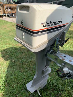 6 HP JOHNSON for Sale in Glastonbury, CT