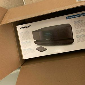 NEW Bose - Wave SoundTouch Music System - Black for Sale in Rockville, MD
