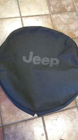 Spare Tire Cover Jeep Wrangler (Mopar OEM) for Sale in St. Petersburg, FL