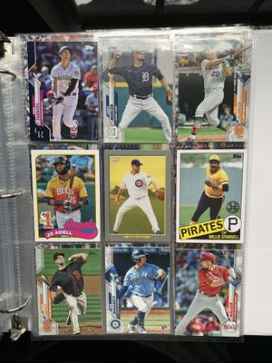 225+ CT BASEBALL CARD LOT 2020 TOPPS/BOWMAN/PANINI CONTENDERS (ROOKIES/INSERTS) for Sale in Tampa, FL