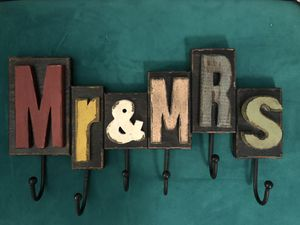 Mr&Mrs hanging clothes for Sale in Columbia, SC
