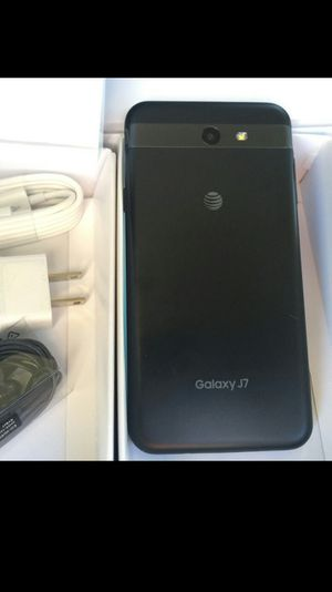 Samsung Galaxy J7 - excellent condition, factory unlocked, clean IMEI for Sale in Springfield, VA