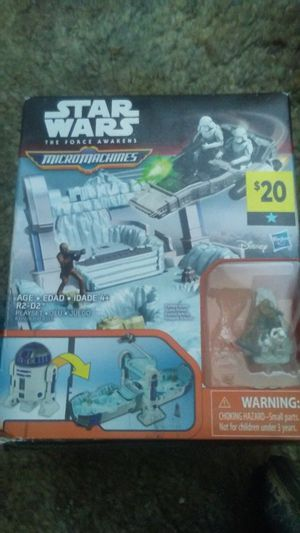 Micromachines StarWars playset for Sale in Cuba, MO