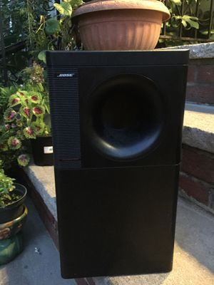Bose Subwoofer 🔊 powerful & Banging Bass! No speakers included for Sale in Queens, NY
