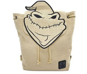 LOUNGEFLY X NIGHTMARE BEFORE CHRISTMAS OOGIE BOOGIE BURLAP BACKPACK for Sale in Orlando, FL