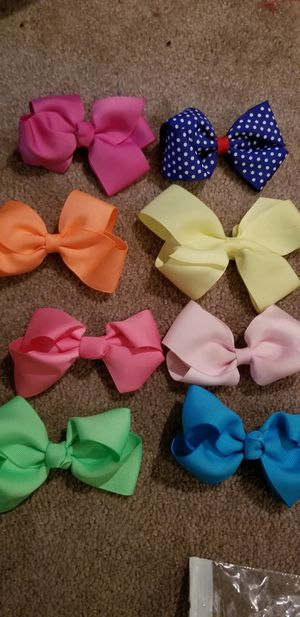 8 assorted hairbows for Sale in Feasterville-Trevose, PA