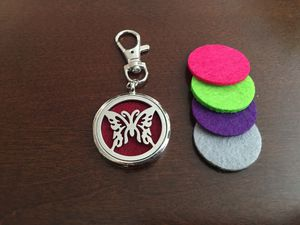 Essential Oils Diffuser w 4 Pads - Key Ring Keychain Lobster Clasp for Sale in San Jose, CA