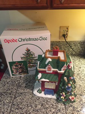 Christmas cookie jar Spode NEW in Box for Sale in Lakewood, WA