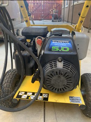 Honda pressure washer low. Low use for Sale in Patterson, CA