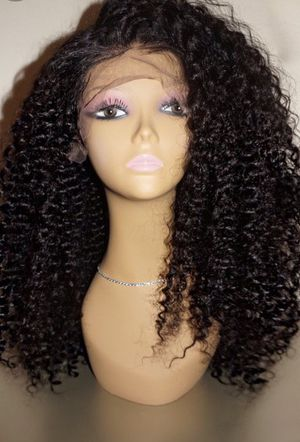 Human hair brazillian curly FULL lace wig for Sale in Los Angeles, CA