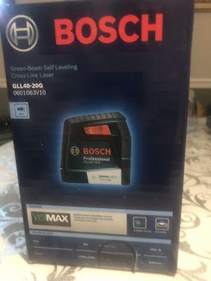 Láser Bosch Green- bean 40 ft Nuevo en se caja 📦 original for Sale in Cicero, IL