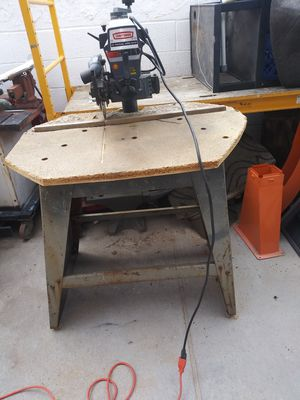 "10"" craftsman table arm saw like new for Sale in Las Vegas, NV"