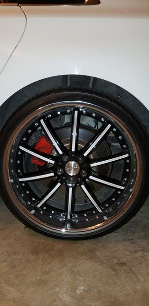 "22"" Rims and Tires for Sale in UPR MARLBORO, MD"