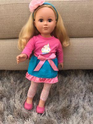 Doll for girl toys gift muñecas para niñas juguetes regalos for Sale in Miami, FL