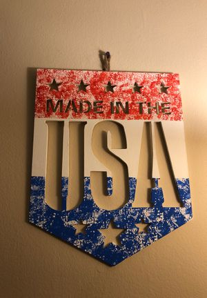 Hand painted a wall decor for Sale in Lexington, KY